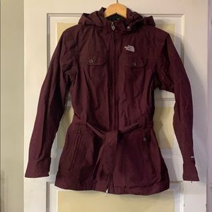 Women's North Face (Burgundy/maroon) Jacket